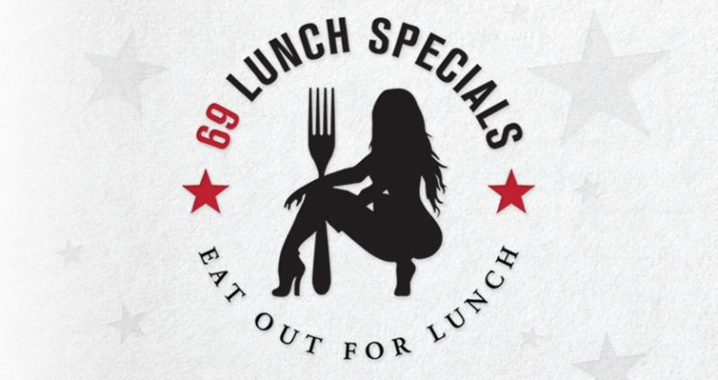 69 Lunch Specials at Cheerleaders