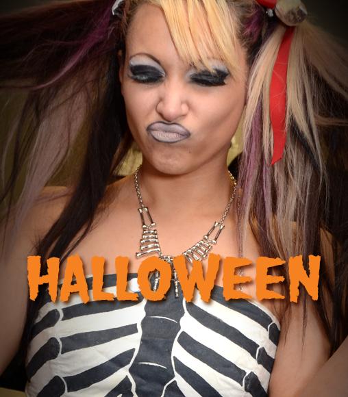 Halloween 2012 at Cheerleaders Club