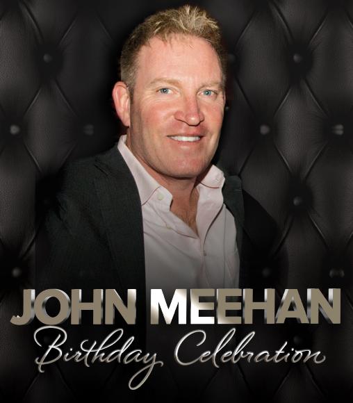 Happy Birthday John at Cheerleaders Club