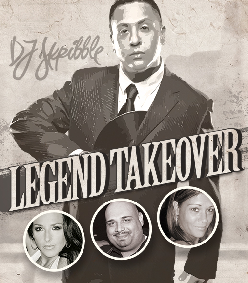 Legend Takeover - Oct 2015 at Cheerleaders Club