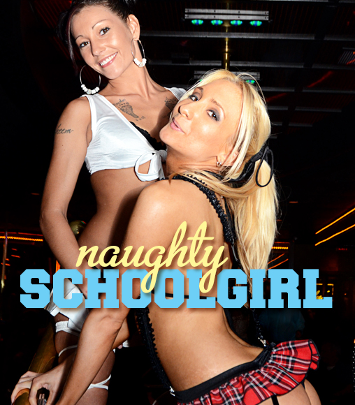 Naughty Schoolgirl 2012 at Cheerleaders Club