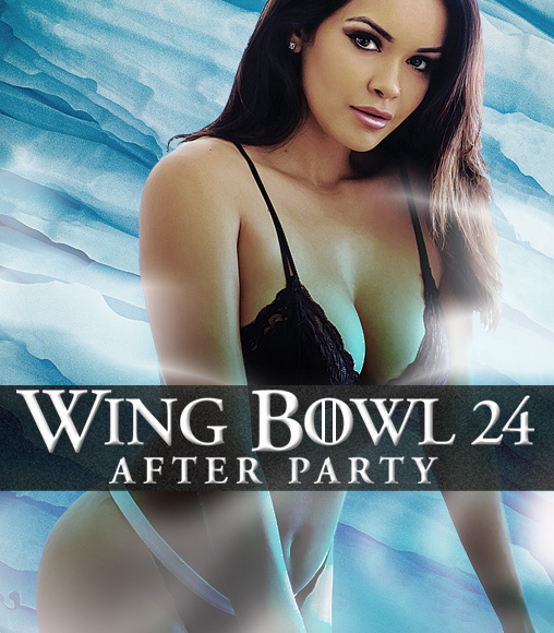 Wing Bowl 24 at Cheerleaders Club