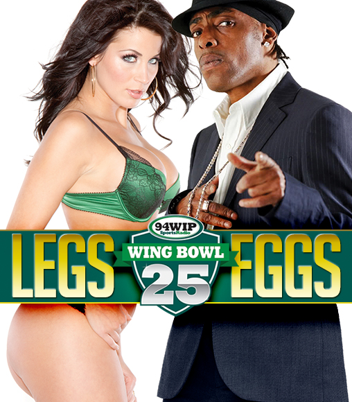 Wing Bowl 25 at Cheerleaders Club