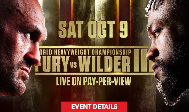 Fury vs Wilder 3 (HPB)