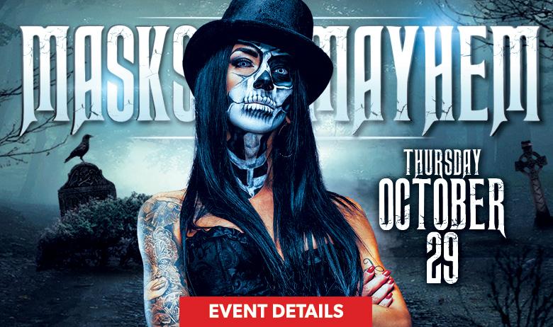 Masks & Mayhem Halloween (HPB)