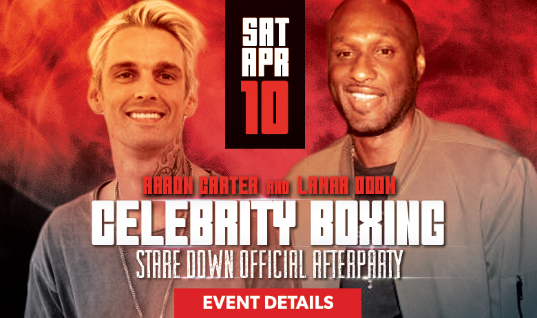 Aaron Carter + Lamar Odom After Party (HPB)