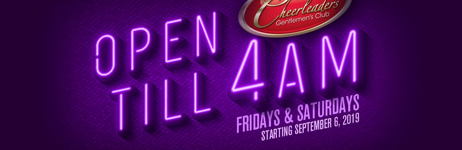 Open Till 4am (HPB)
