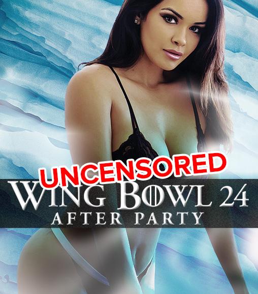 Wing Bowl 24 at Cheerleaders Club