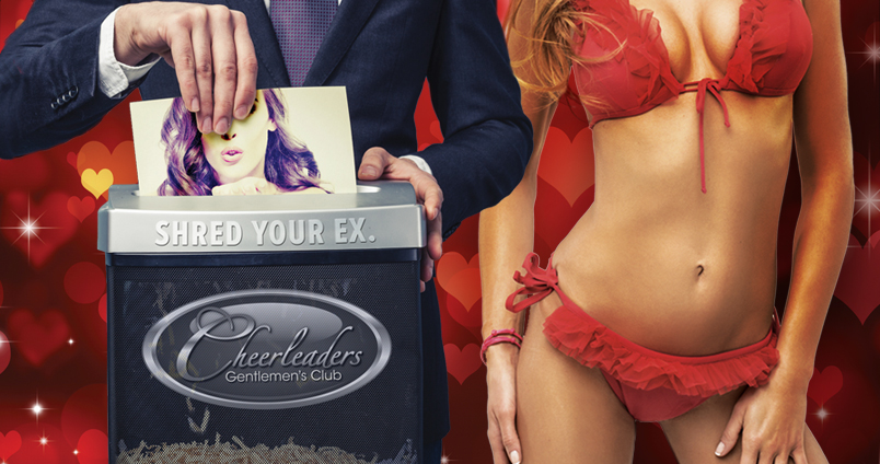 Shred Your Ex at Cheerleaders Club