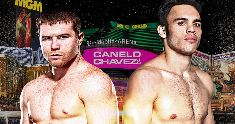 Canelo vs Chavez Jr at Cheerleaders Club