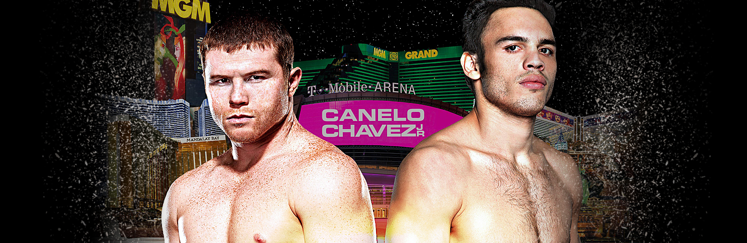 Canelo vs Chavez Jr at Cheerleaders New Jersey