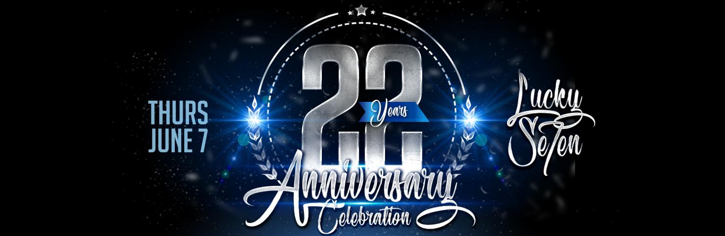 22nd Anniversary at Cheerleaders New Jersey