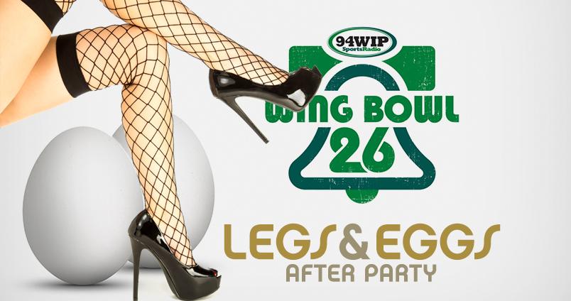 Wing Bowl 26 - Legs & Eggs at Cheerleaders Club