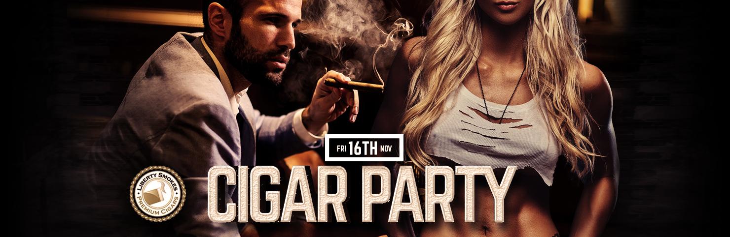 Cigar Party - Nov 2018 at Cheerleaders New Jersey
