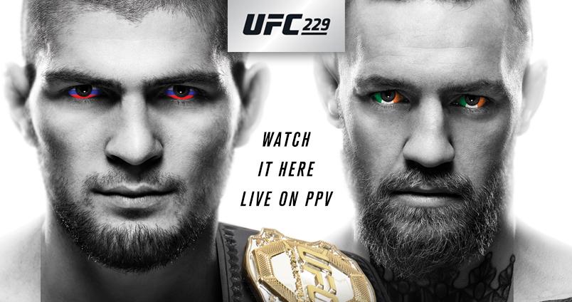 UFC 229 - Khabib vs McGregor at Cheerleaders Club