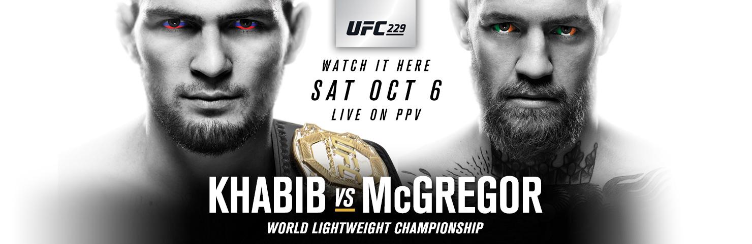 UFC 229 - Khabib vs McGregor at Cheerleaders New Jersey