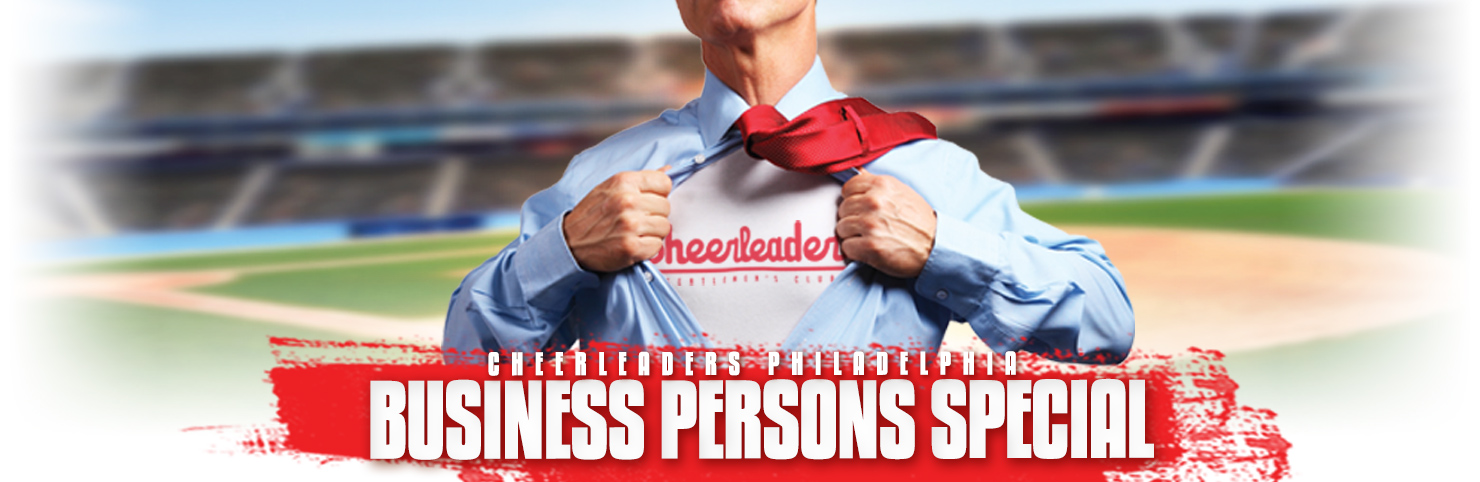 Business Persons Special at Cheerleaders New Jersey