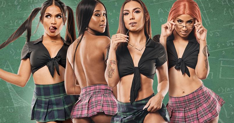 Naughty School Girl Party at Cheerleaders Club