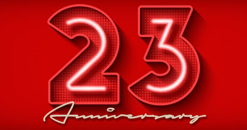 23rd Anniversary at Cheerleaders Club