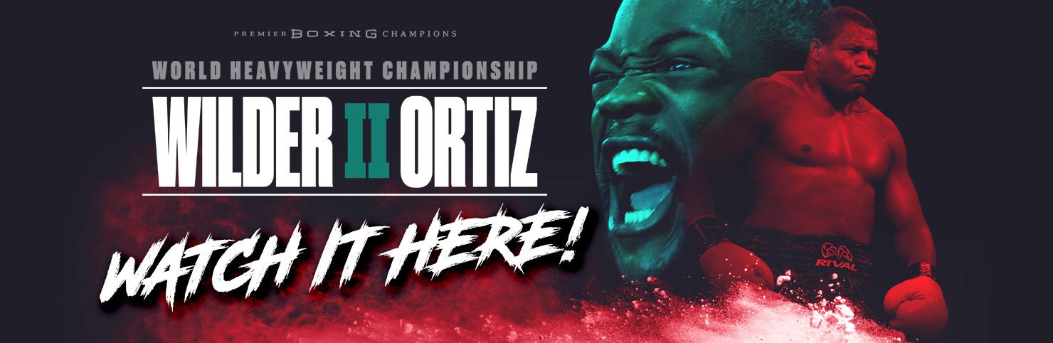 Wilder v Ortiz 2 at Cheerleaders New Jersey