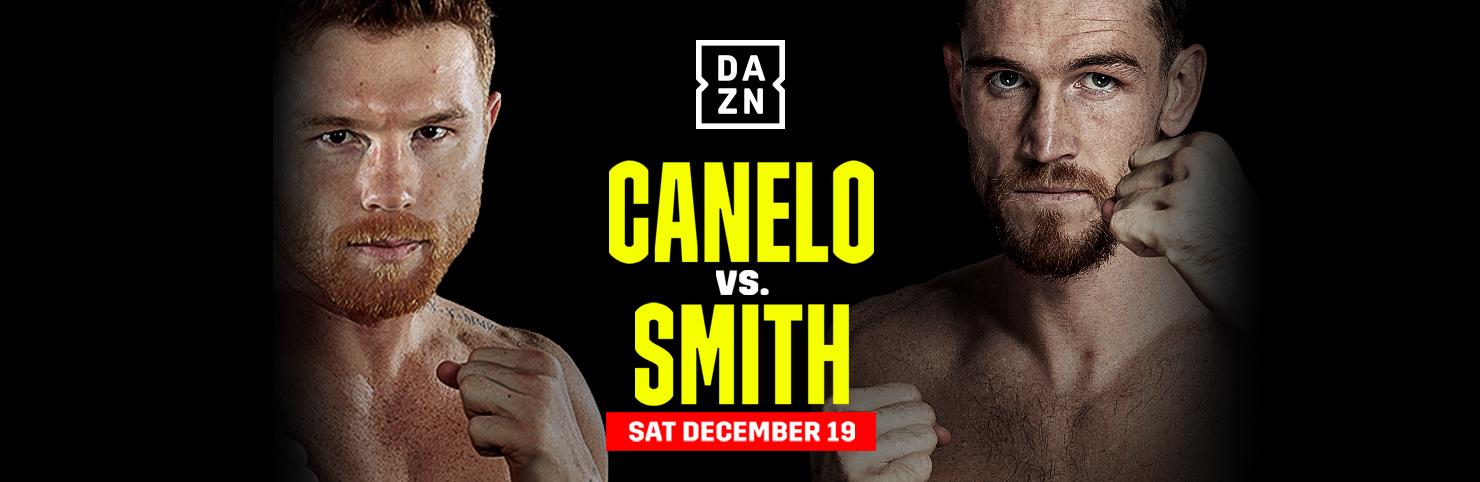 Canelo vs Smith at Cheerleaders New Jersey