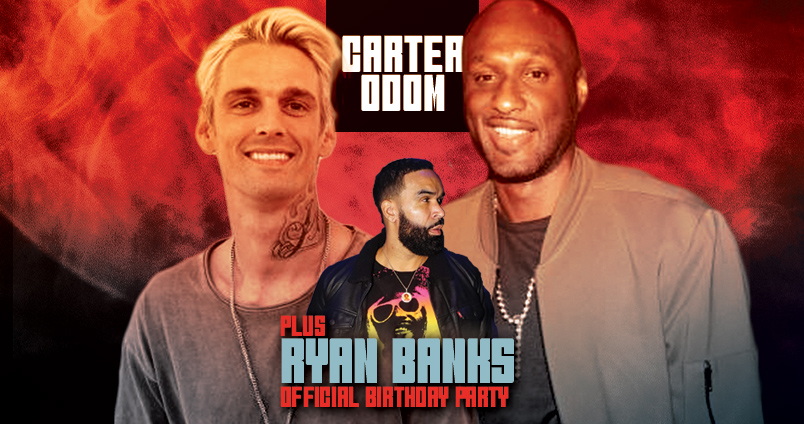 Aaron Carter + Lamar Odom After Party at Cheerleaders Club