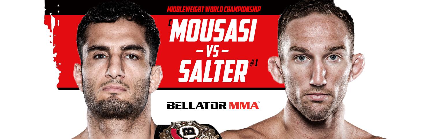 Mousasi vs Salter at Cheerleaders New Jersey