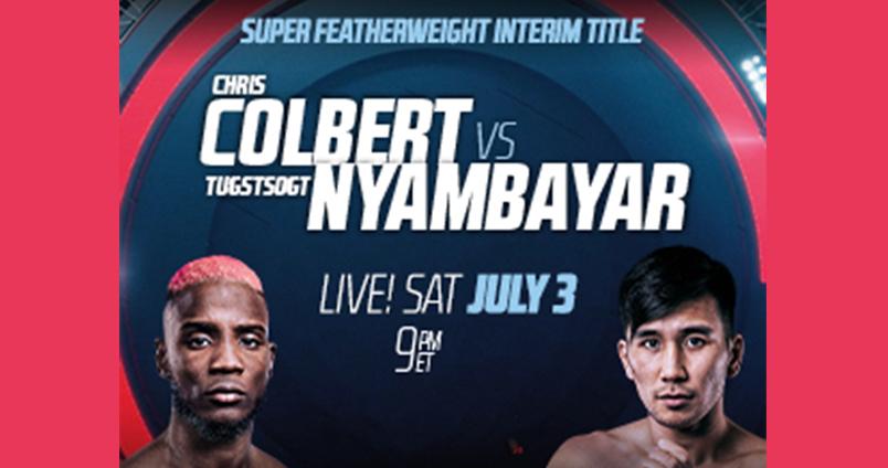 Colbert vs Nyambayar at Cheerleaders Club