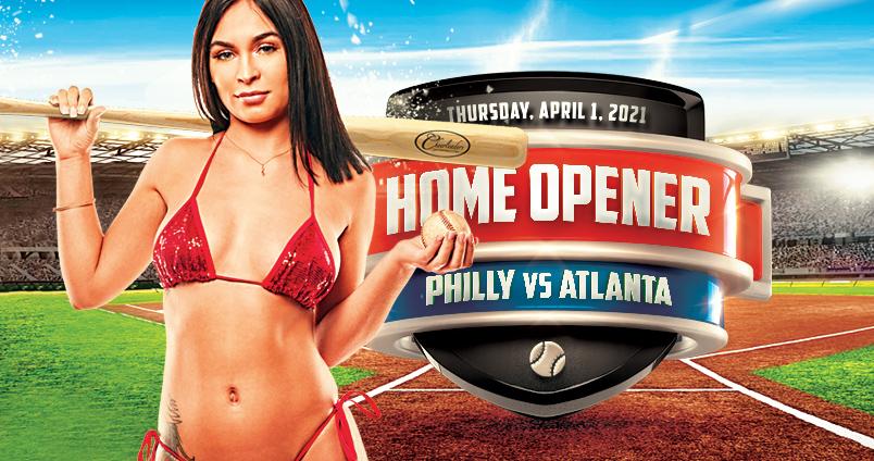 Phillies Home Opener at Cheerleaders Club
