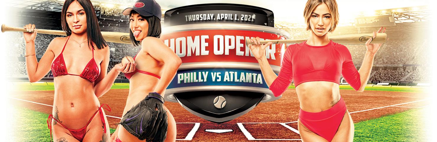Phillies Home Opener at Cheerleaders New Jersey