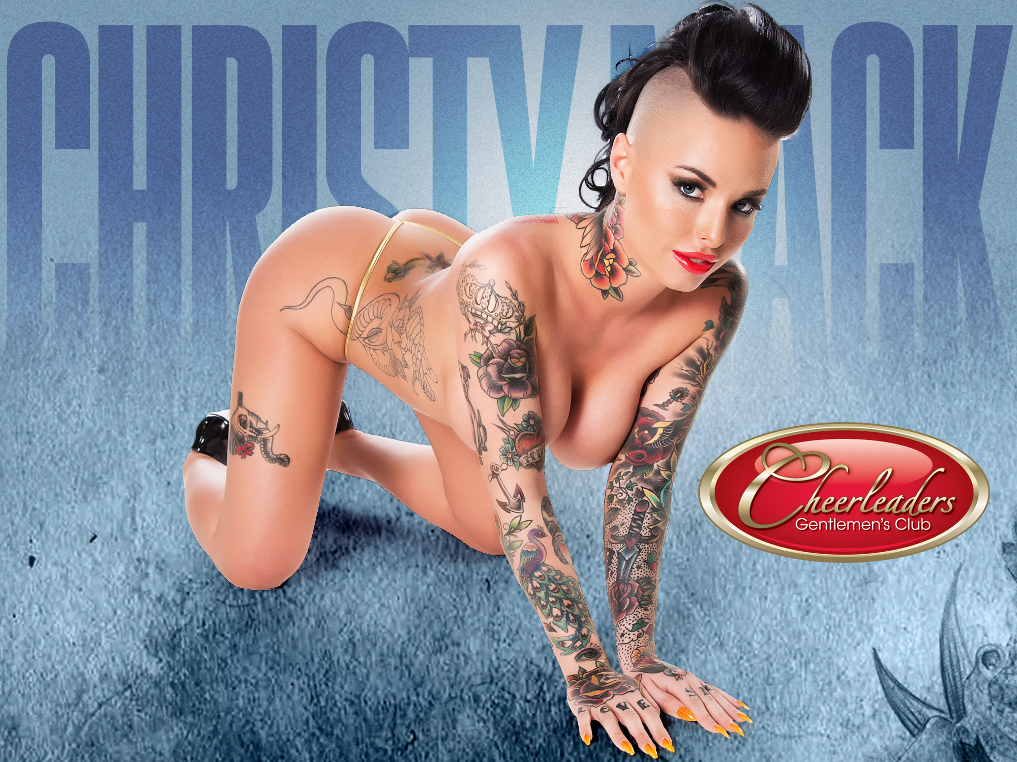 Christy Mack - Cheerleaders Philadelphia